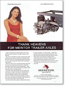 High Maintenance Low Maintenance Axles Ad